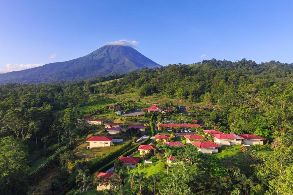 A bird's-eye view of Arenal Volcano Inn