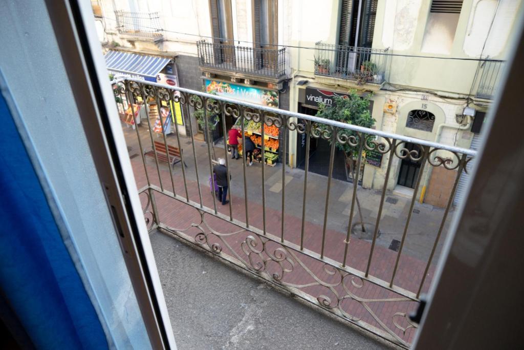 A balcony or terrace at Apartaments Clot-Sant Martí