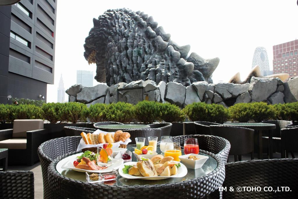 A porch or other outdoor area at Hotel Gracery Shinjuku