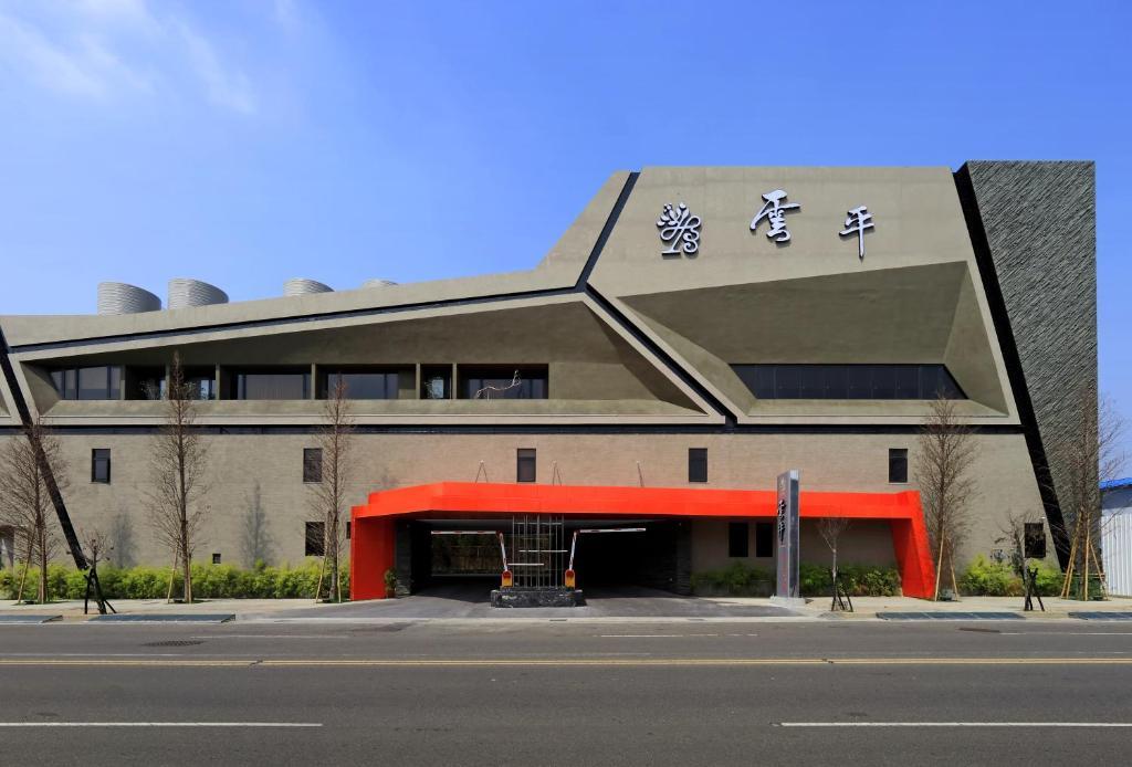 The facade or entrance of Taichung Ease Motel