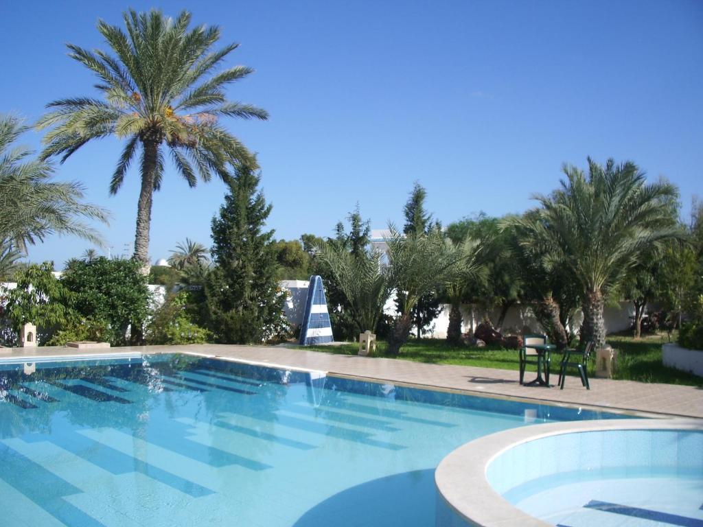 The swimming pool at or near Menzel Dija