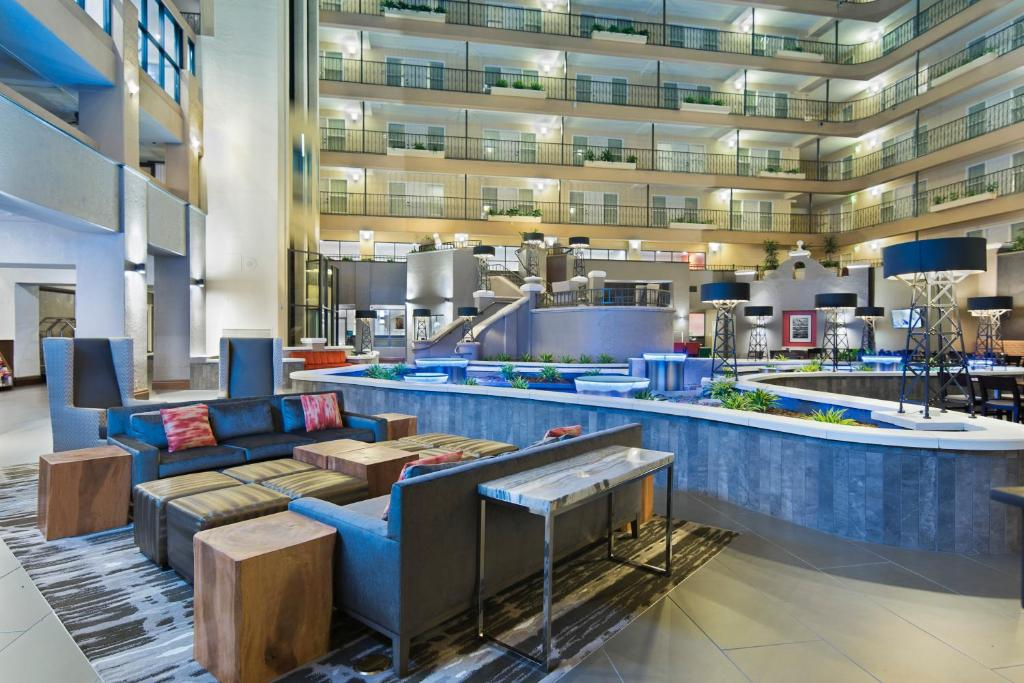 Inside the Embassy Suites Los Angeles - Downey.