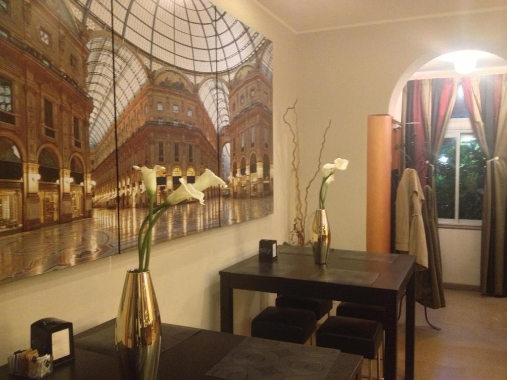 Salon ou bar de l'établissement Hotel Aspromonte