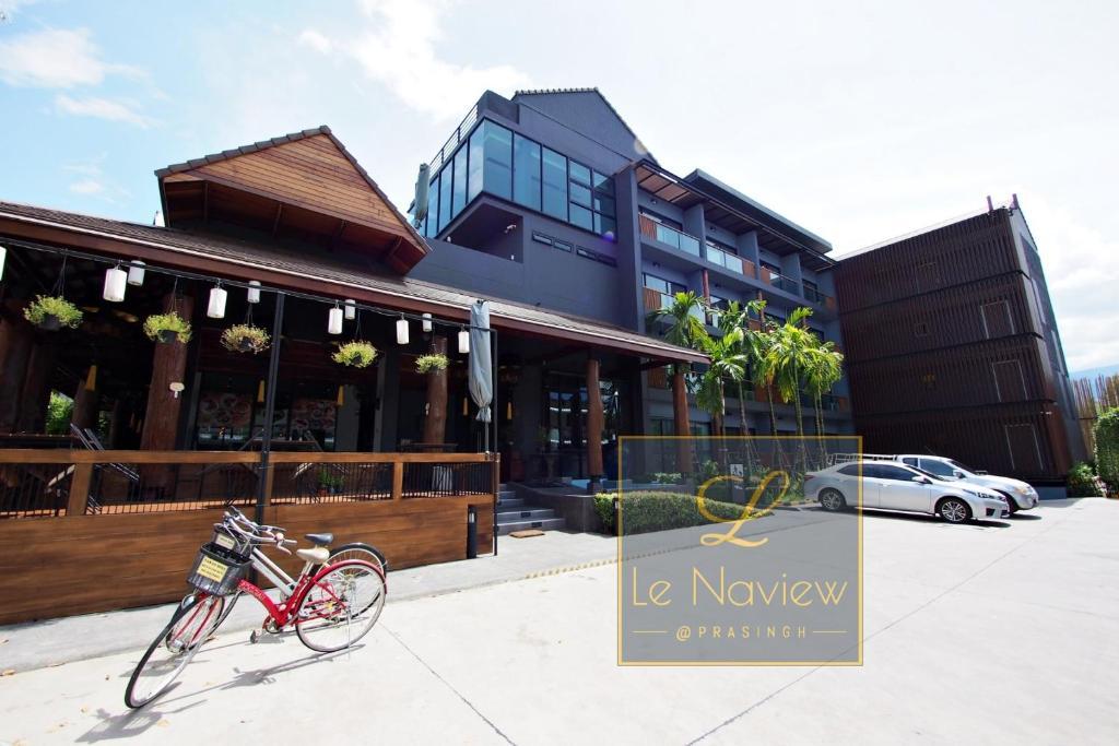 The facade or entrance of Le Naview @Prasingh