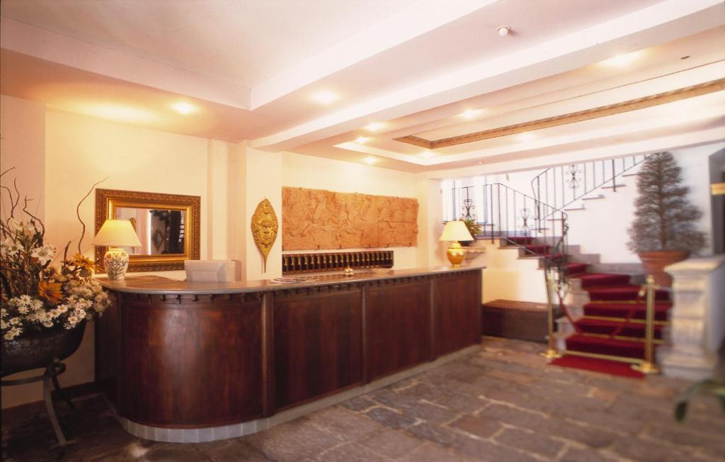 Hall o reception di Hotel La Palazzina