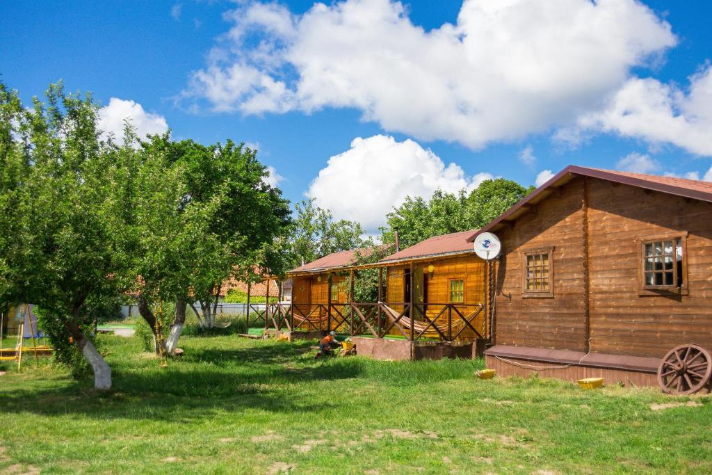 Сад в Eco-camping Valterra