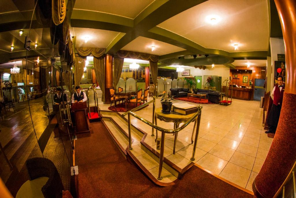 The fitness centre and/or fitness facilities at Faraona Grand Hotel