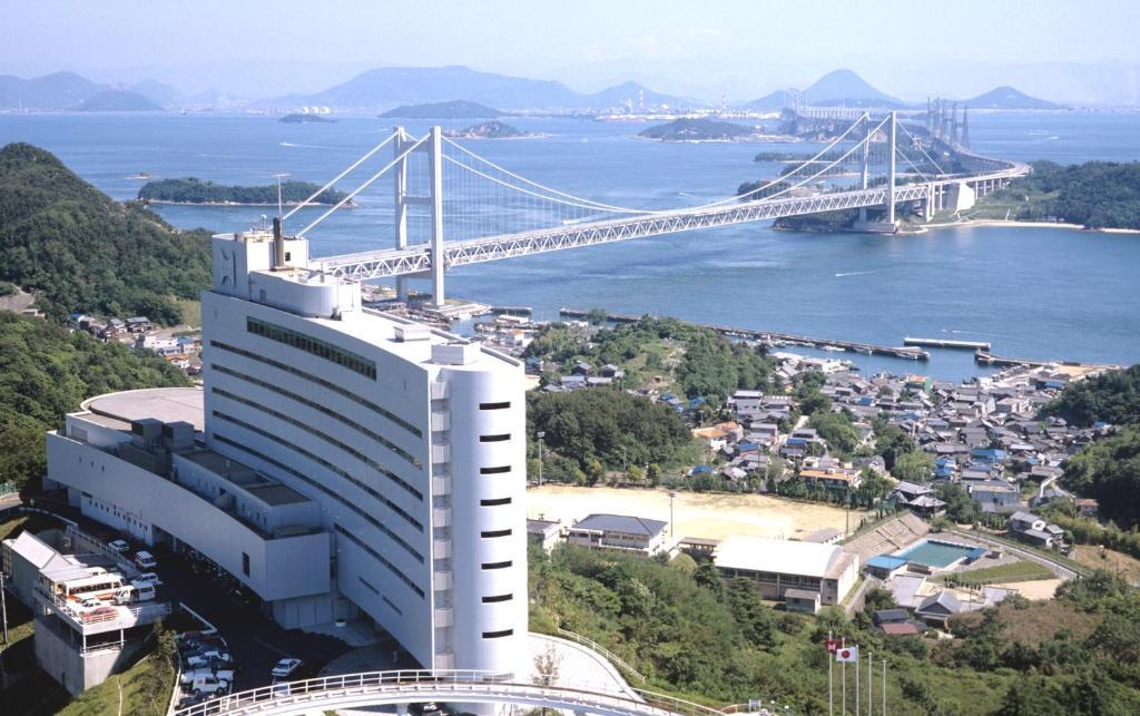 A bird's-eye view of Setouchi Kojima Hotel Kurashiki