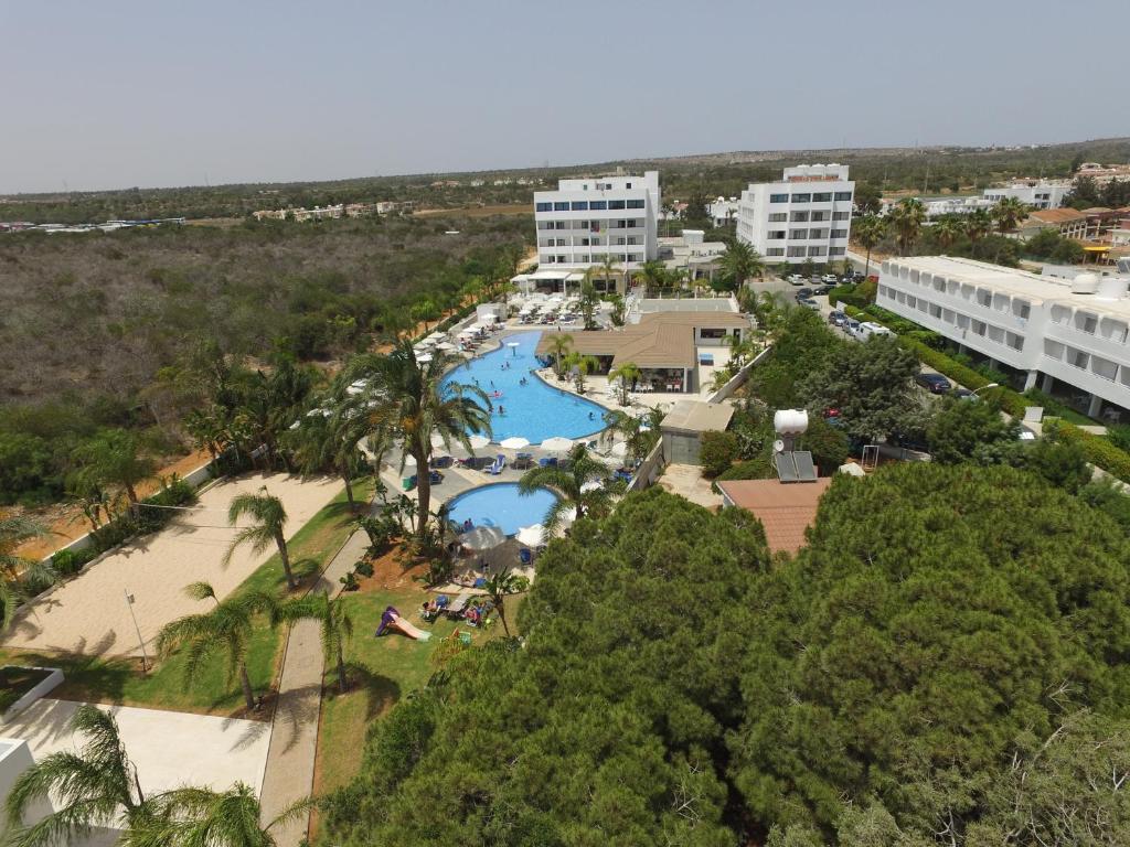 A bird's-eye view of Christofinia Hotel