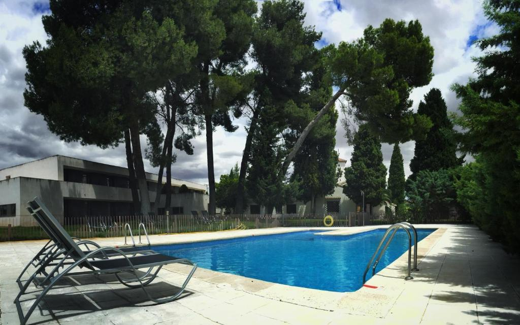 The swimming pool at or near Hotel & Spa La Salve