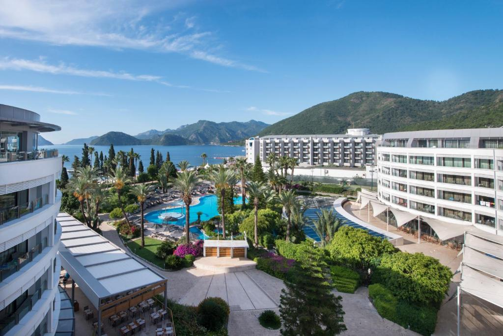 A view of the pool at TUI BLUE Grand Azur or nearby