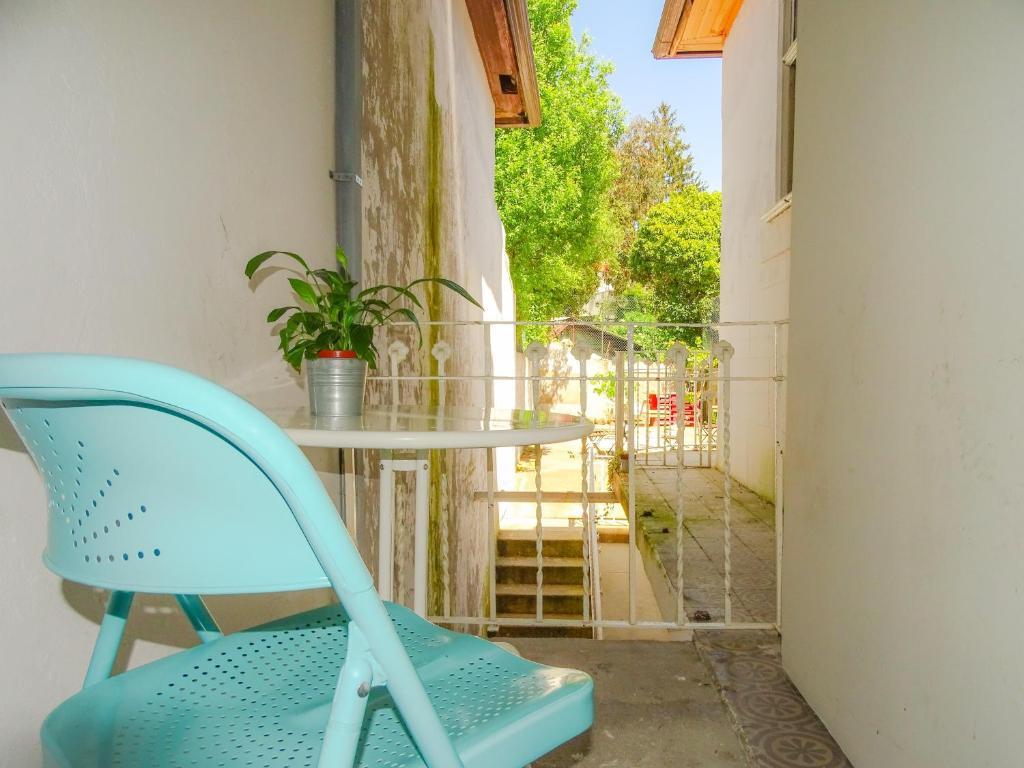 Terrasse ou espace extérieur de l'établissement O2 Hostel