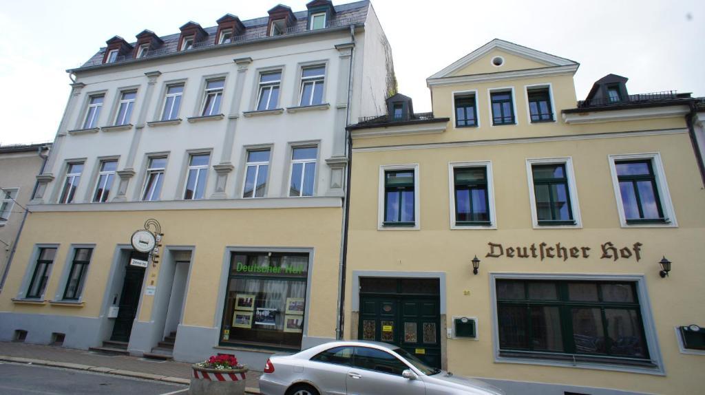 The facade or entrance of Deutscher Hof