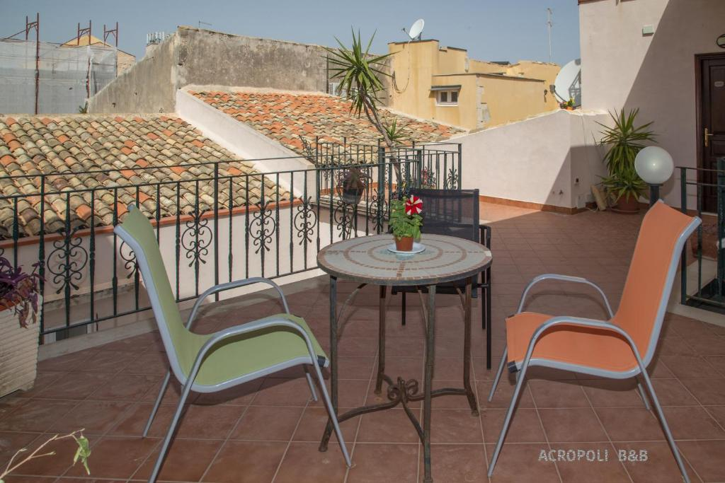 A balcony or terrace at Residence Acropoli