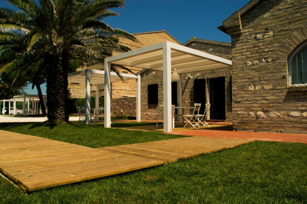 A porch or other outdoor area at Lido Azzurro