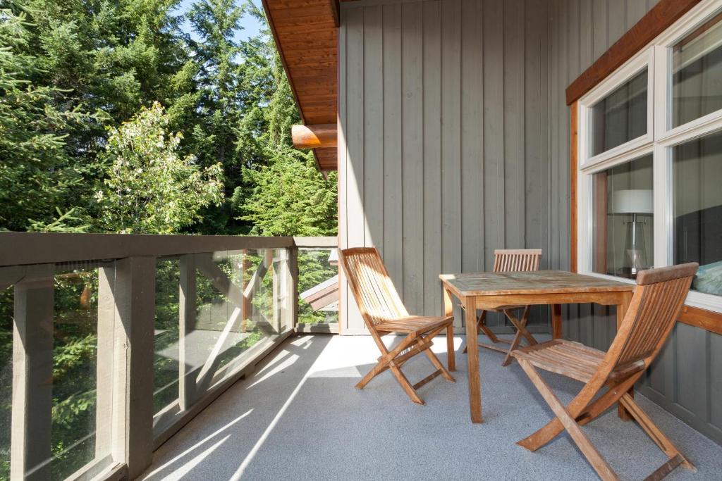 A porch or other outdoor area at Lost Lake Lodge by Whistler Premier