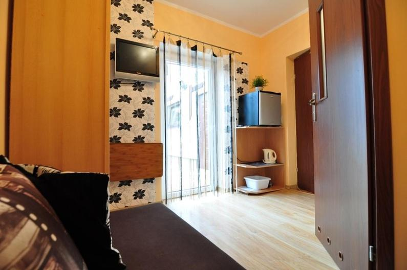 Łóżko lub łóżka w pokoju w obiekcie Sea Gull