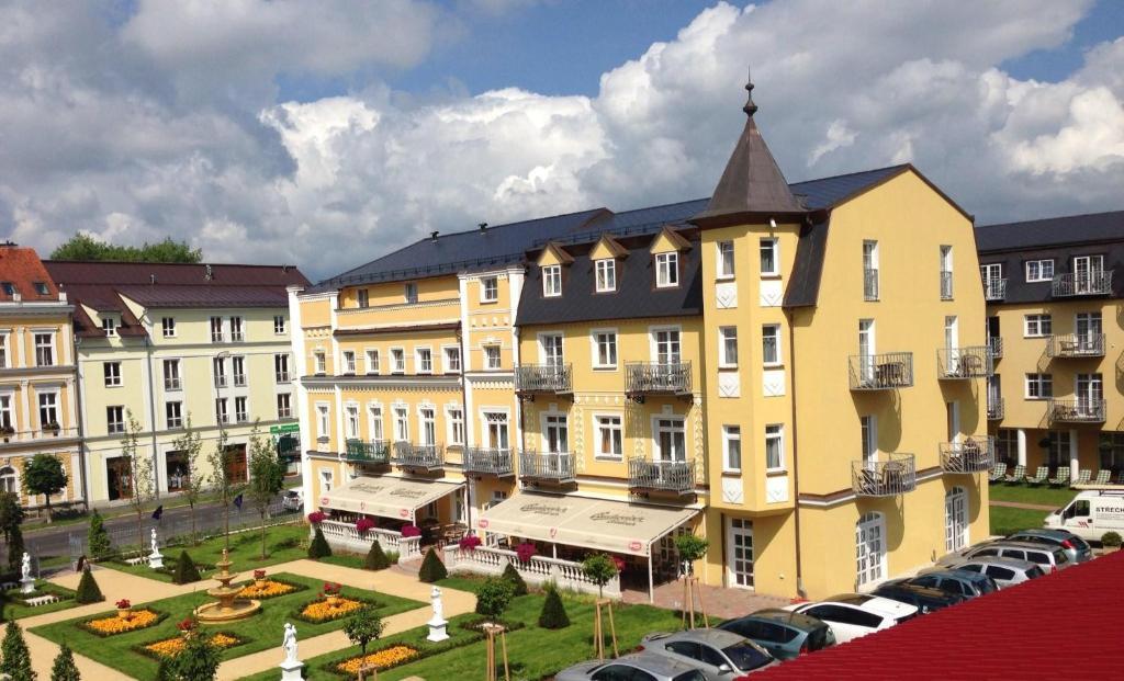Hotel Bajkal Frantiskovy Lazne, Czech Republic