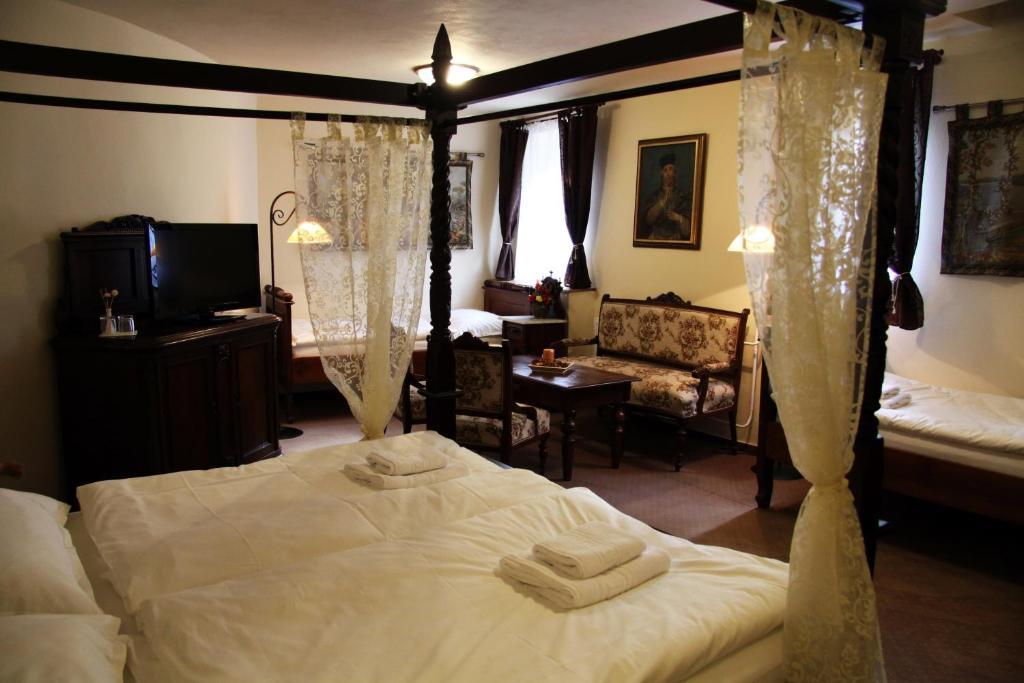Pokoj v ubytování Hotel Koruna Prachatice