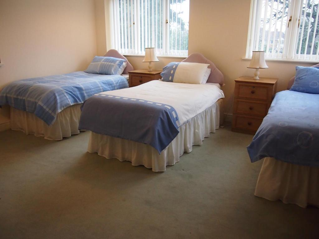 A bed or beds in a room at Nine Elms