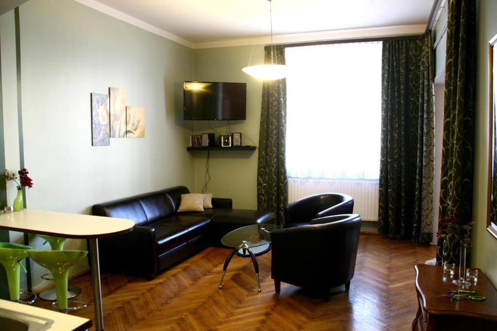 Część wypoczynkowa w obiekcie Apartamenty Astur