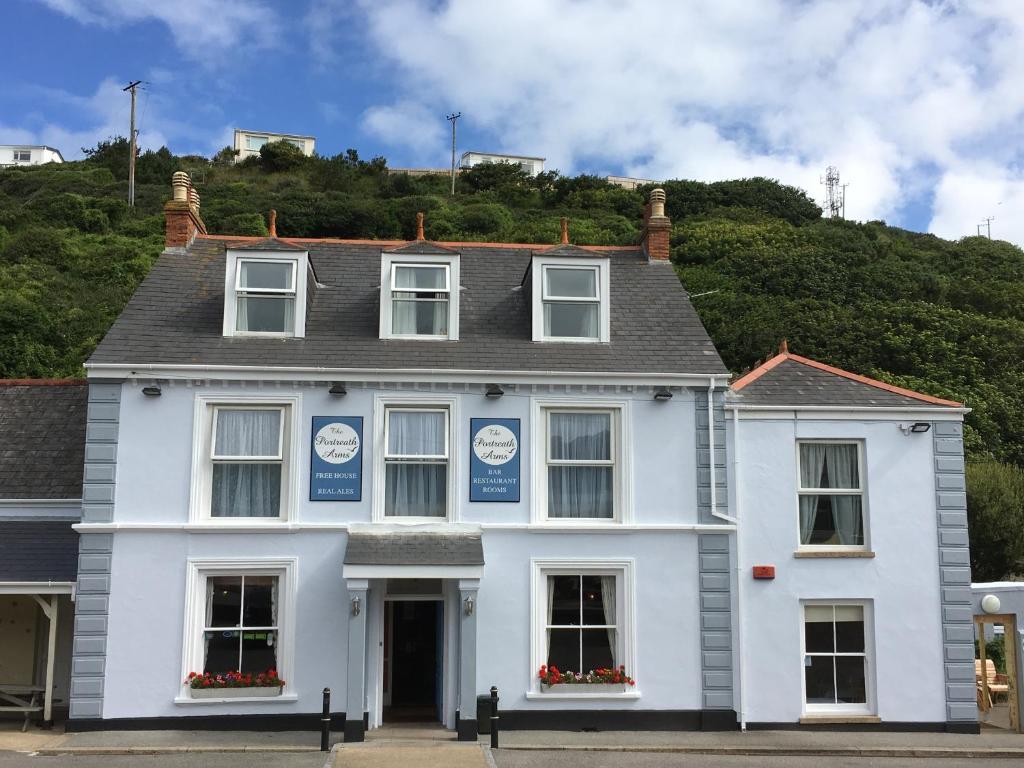 Portreath Arms Hotel in Portreath, Cornwall, England