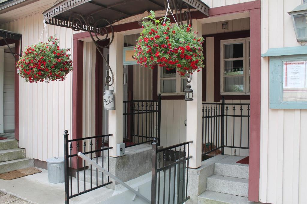 Balkon lub taras w obiekcie Hotel Palo