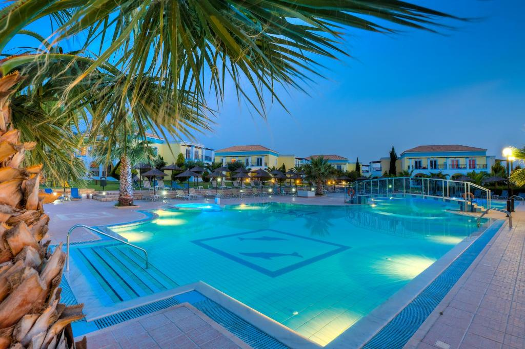 The swimming pool at or near Corali Hotel