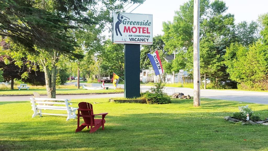 Сад в Greenside Motel
