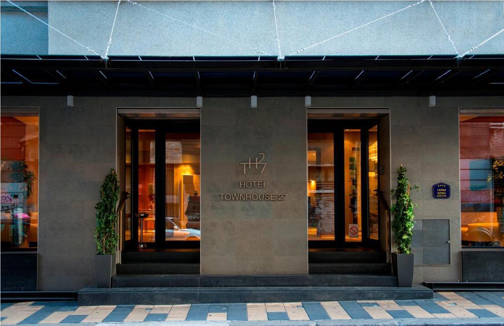 The facade or entrance of Boutique Garni Hotel Townhouse 27