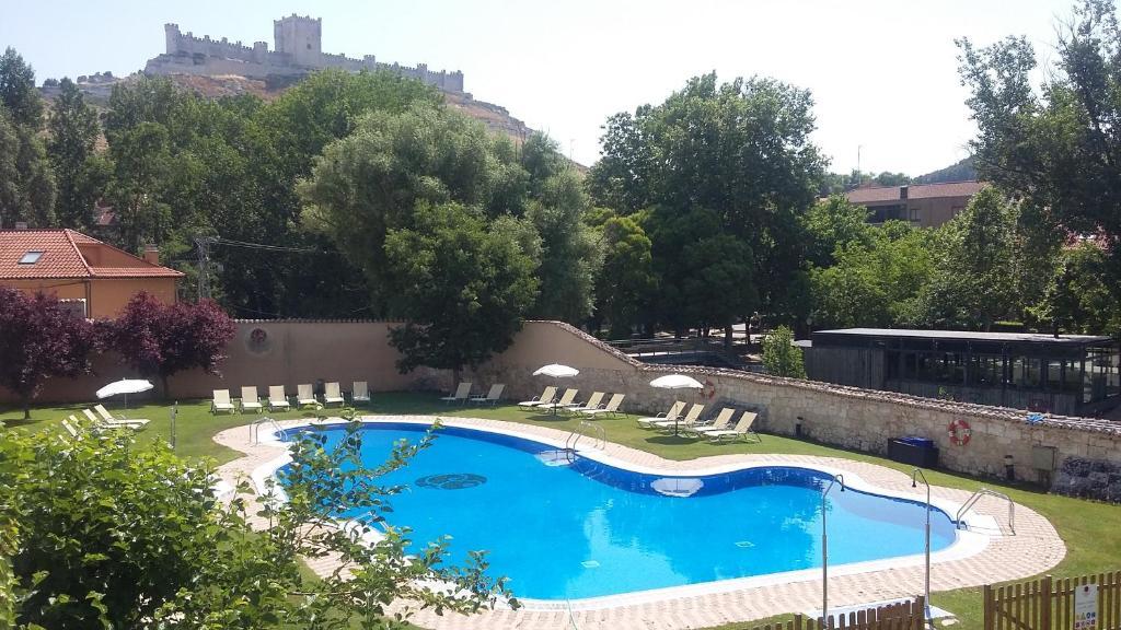 Vista de la piscina de Hotel Spa Convento Las Claras o alrededores
