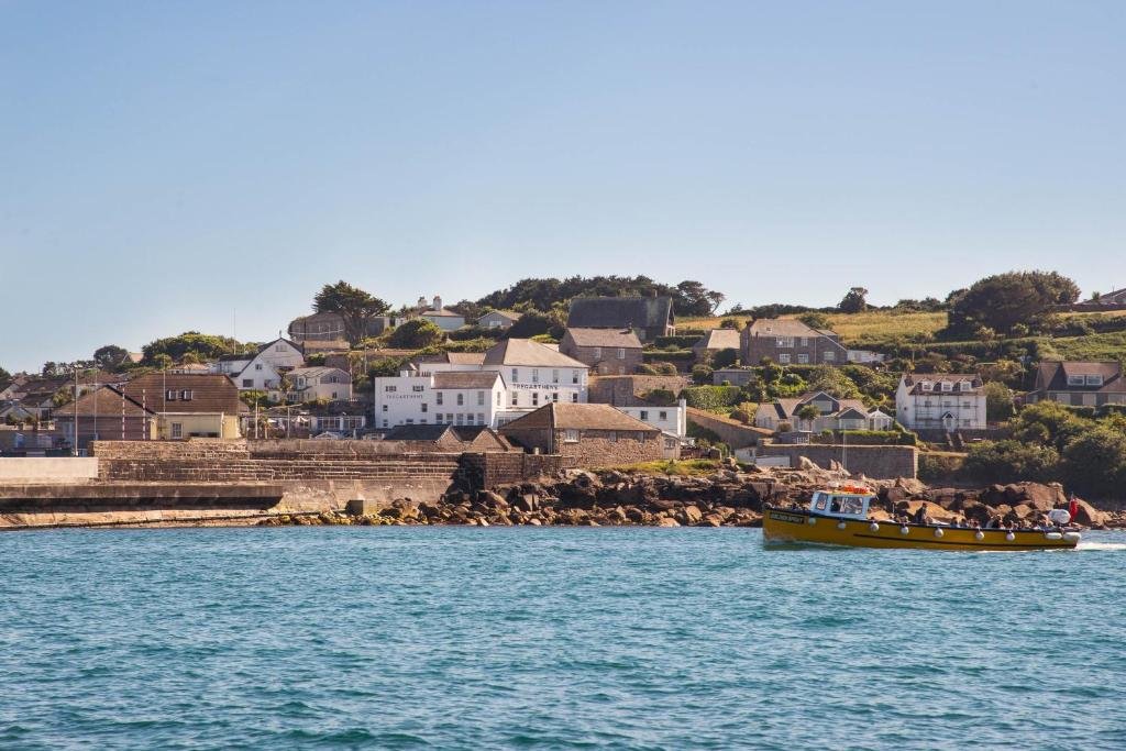 Tregarthen's Hotel in Hugh Town, Isles of Scilly, England
