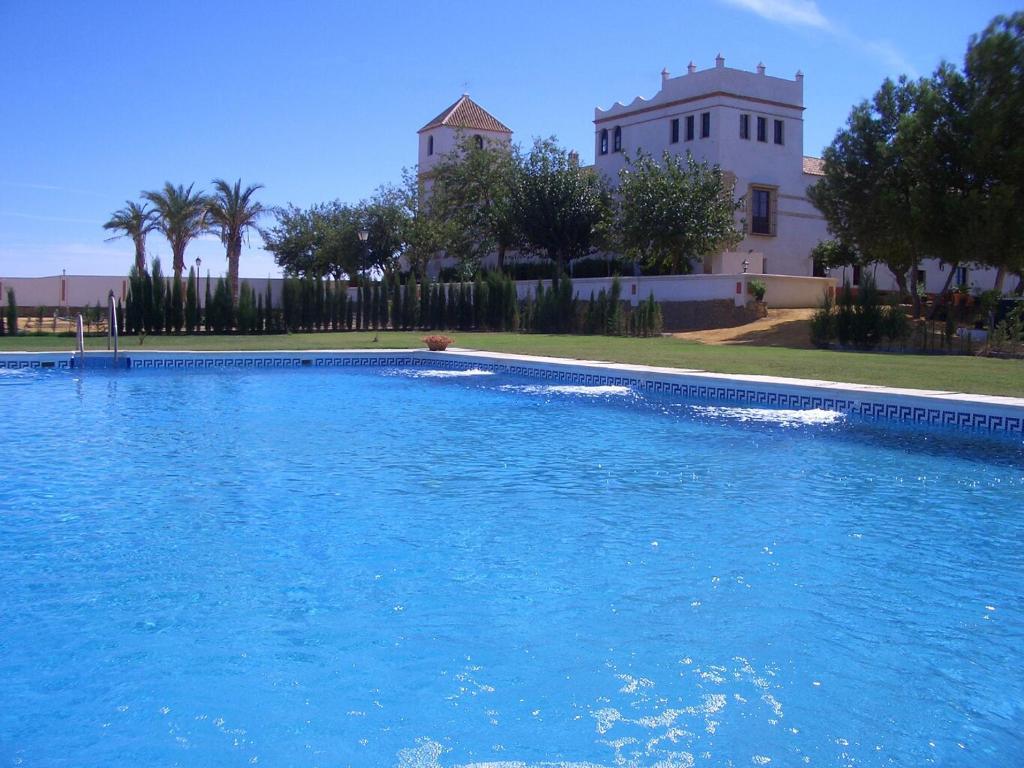 The swimming pool at or near Hacienda Los Jinetes