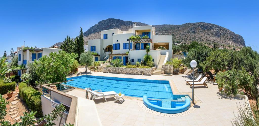 The swimming pool at or near Eleni Villas