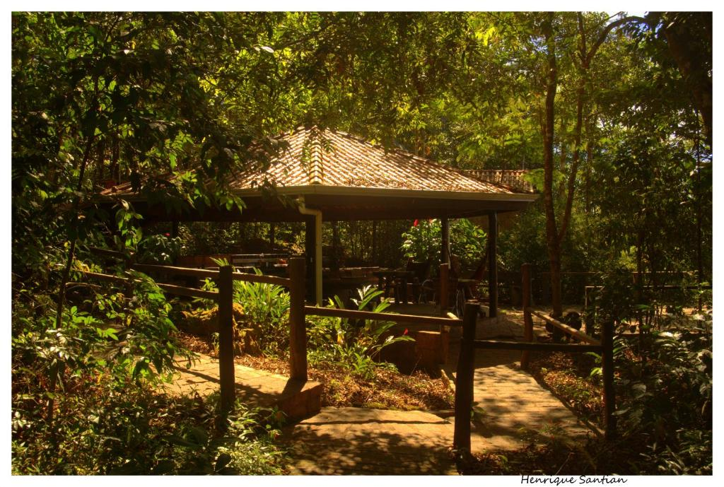 Uma varanda ou outra área externa em Cantos da Mata