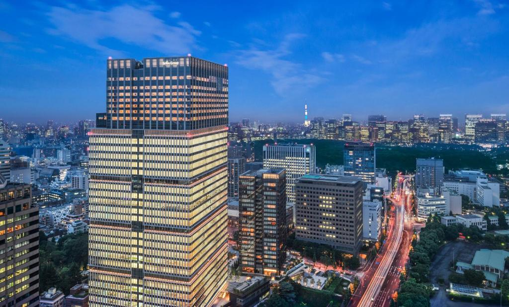 A bird's-eye view of The Prince Gallery Tokyo Kioicho, a Luxury Collection Hotel