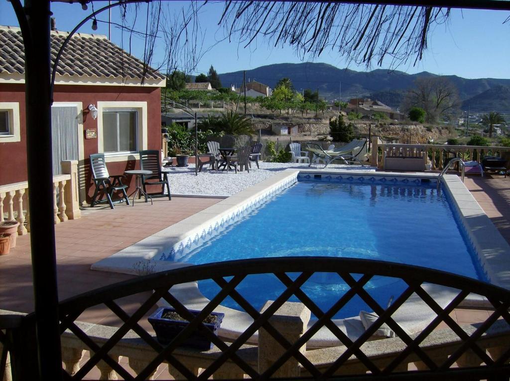 Een balkon of terras bij Finca EuroPeCa