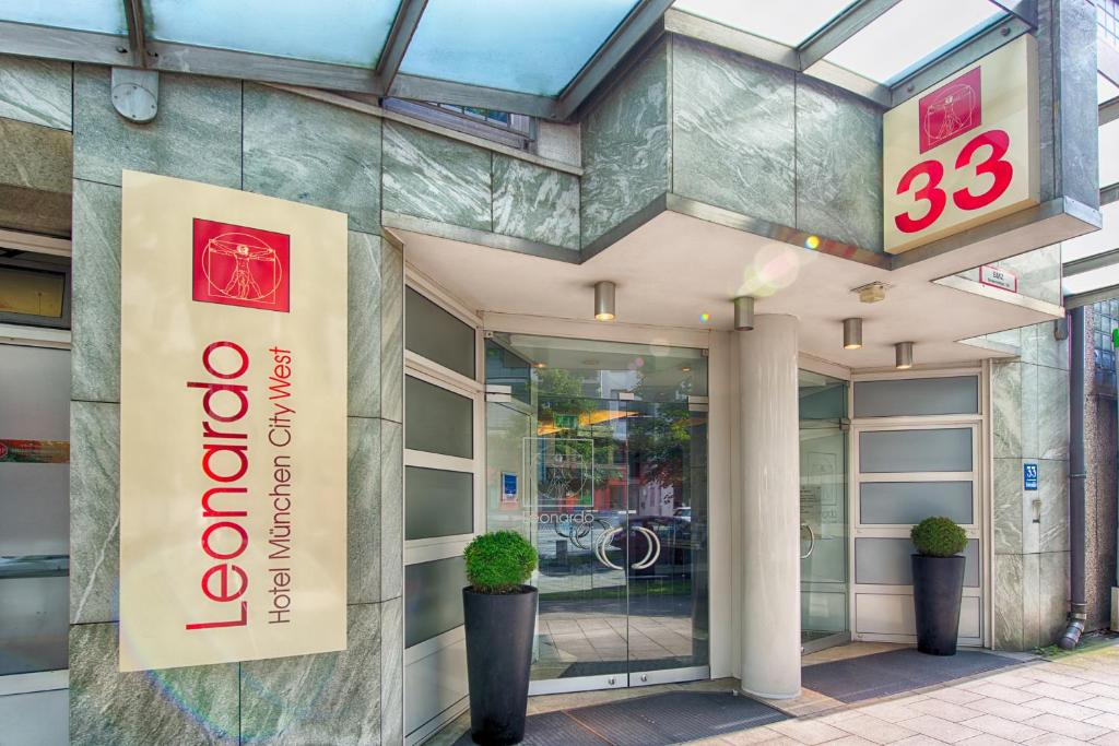 Leonardo Hotel München City West - Laterooms