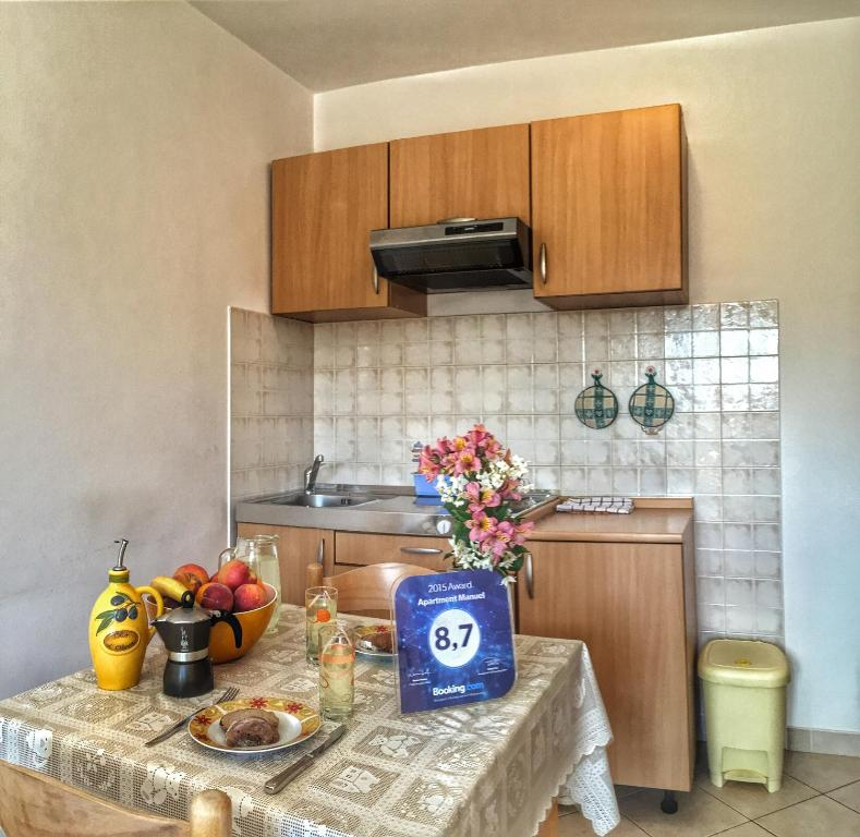 A kitchen or kitchenette at Apartment Manuel