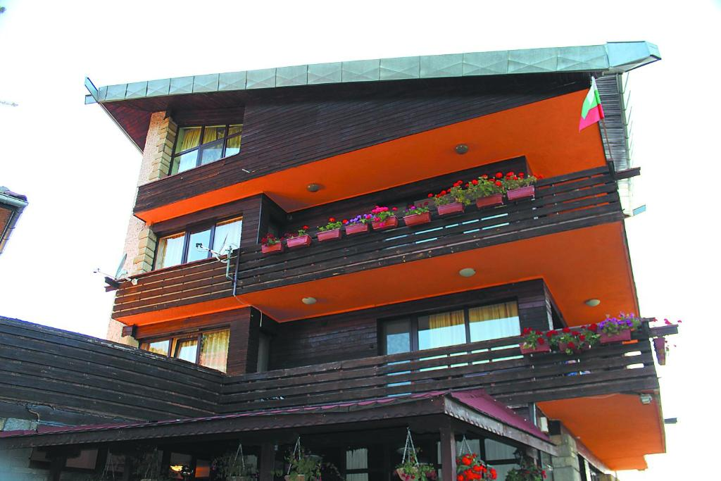 Балкон или тераса в Guest House Daskalov