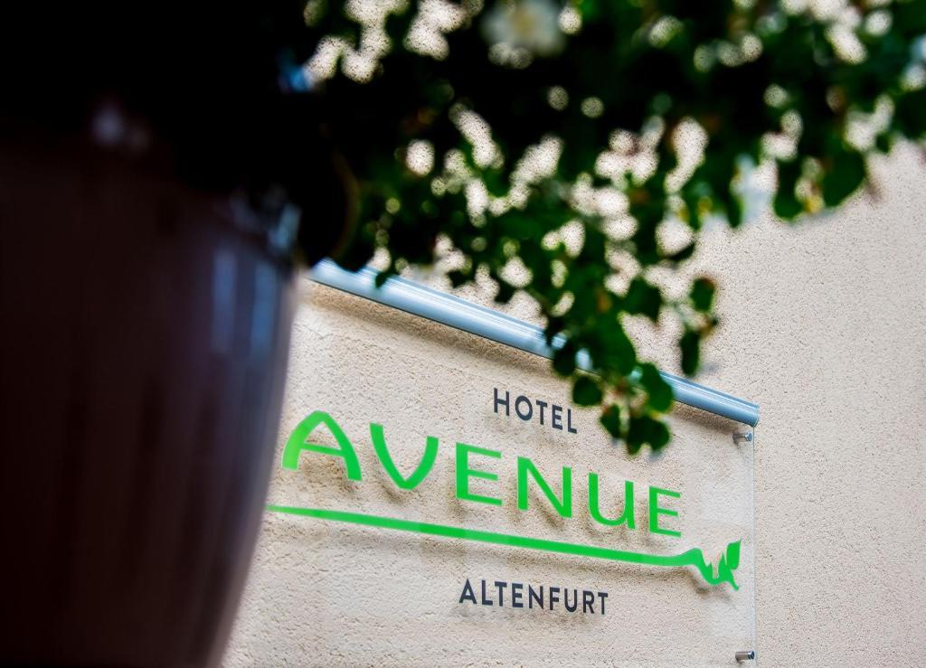 Ein Zertifikat, Auszeichnung, Logo oder anderes Dokument, das in der Unterkunft Avenue Altenfurt ausgestellt ist