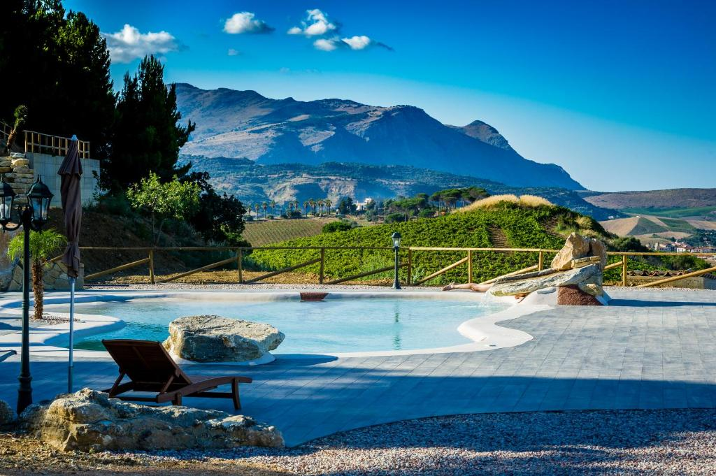 The swimming pool at or near Agriturismo Antichi Granai