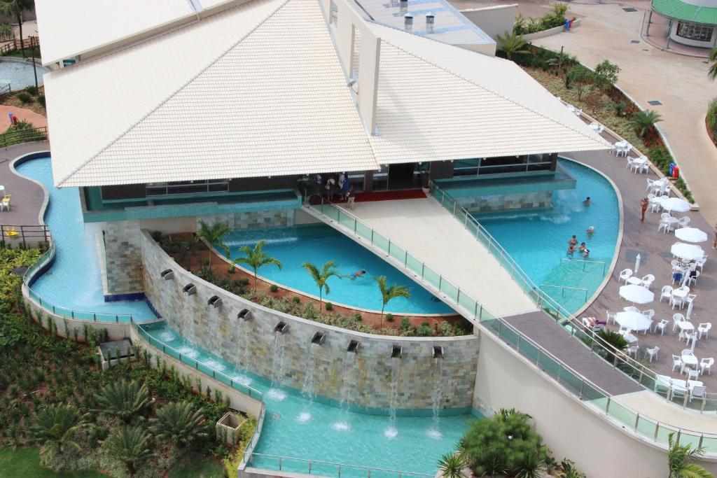 A view of the pool at Hotel CTC or nearby