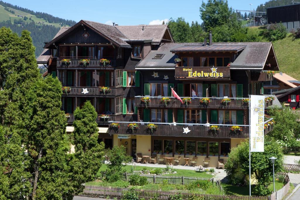 Hotel Edelweiss Wengen, Switzerland