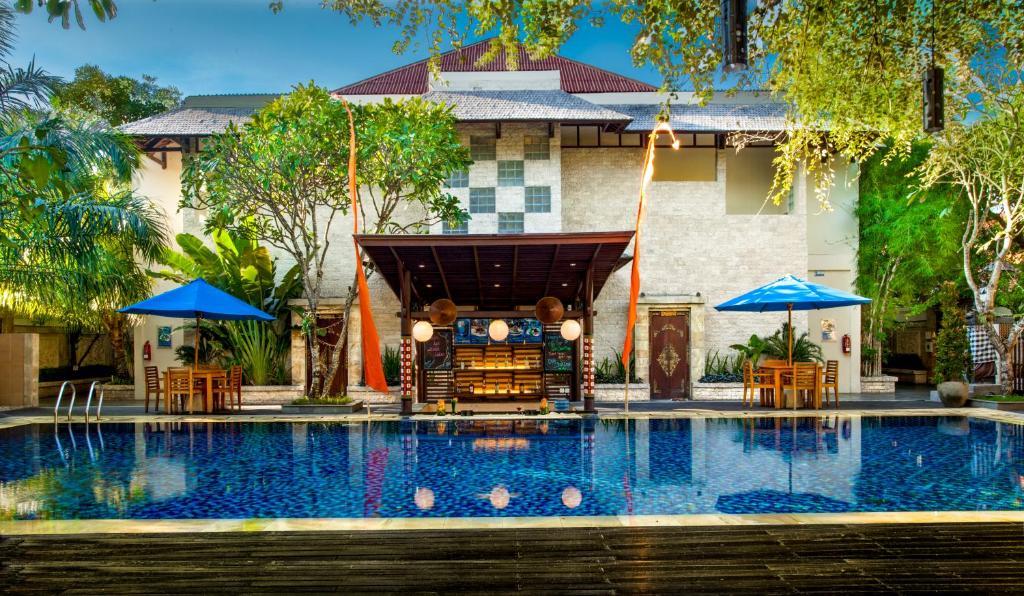 The swimming pool at or near Best Western Kuta Villa