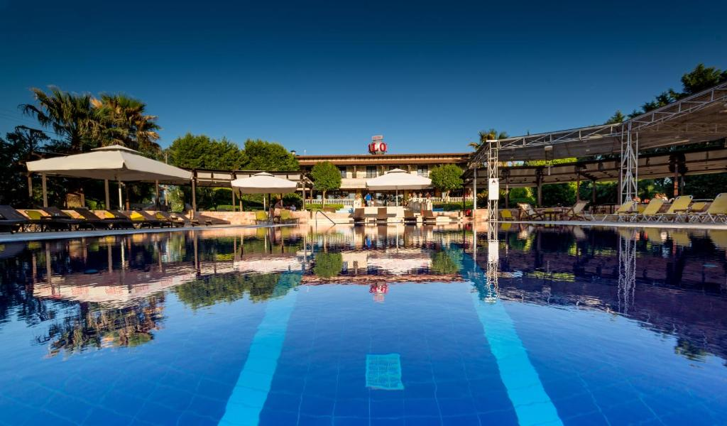 The swimming pool at or near Avalon Airport Hotel Thessaloniki