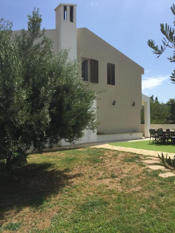 A garden outside Villetta Ludovica