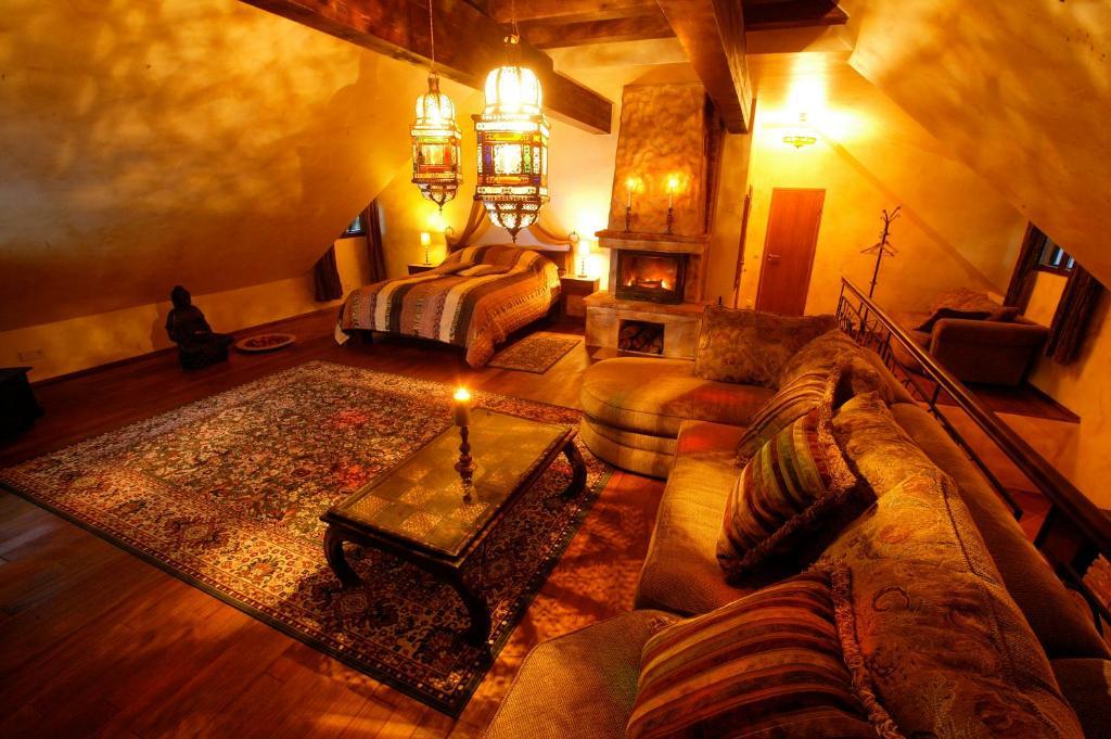 Ein Sitzbereich in der Unterkunft Viimsi manor guesthouse Birgitta
