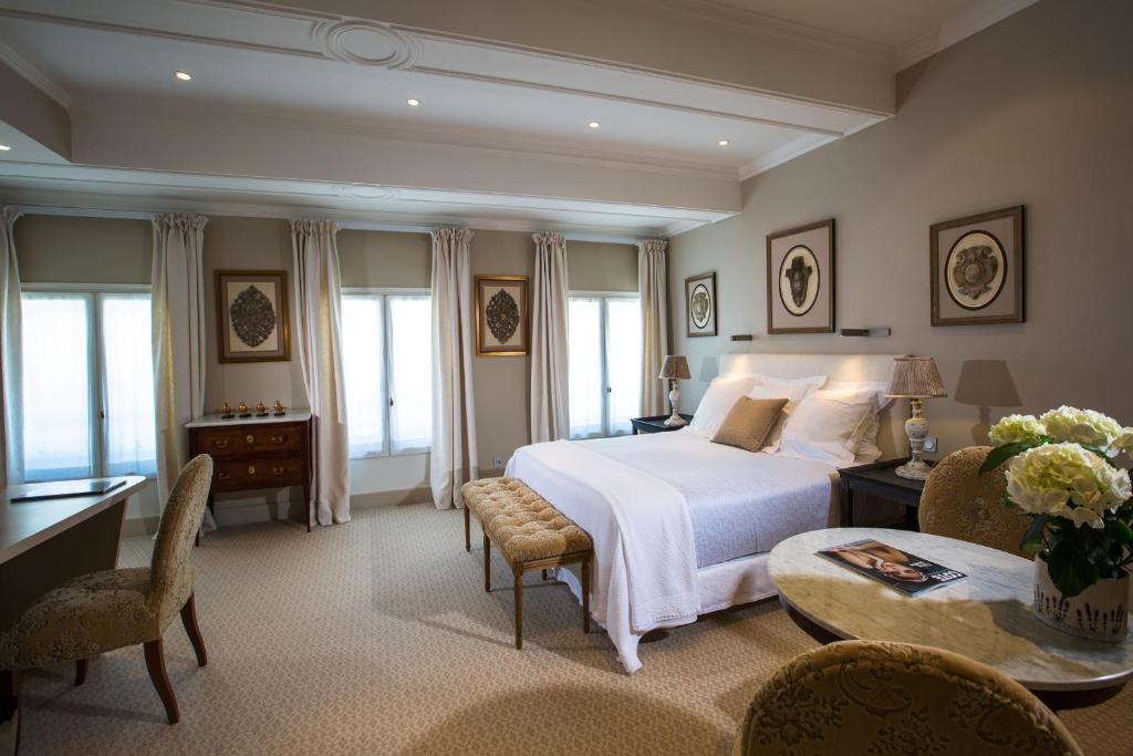 Un ou plusieurs lits dans un hébergement de l'établissement Hotel d'Europe