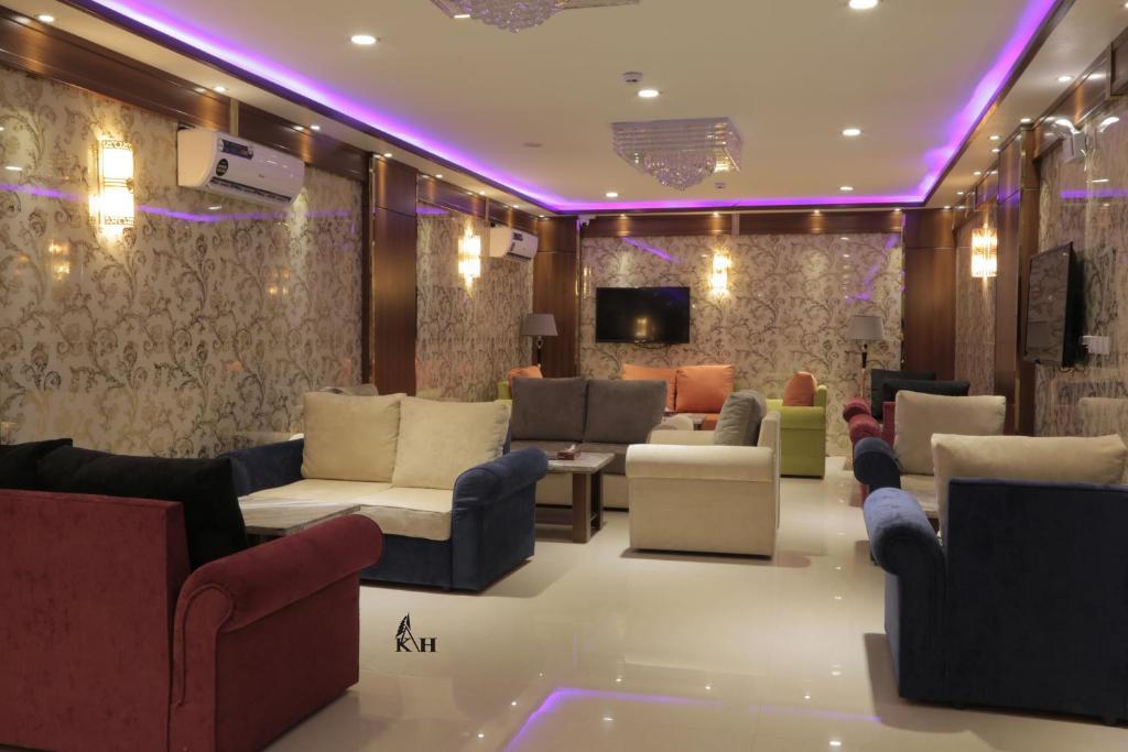 O lounge ou bar de Kadi Hotel